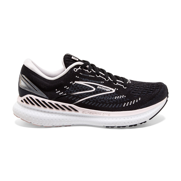 Brooks Glycerin 19 GTS Women's Running Shoe, Black / Pink