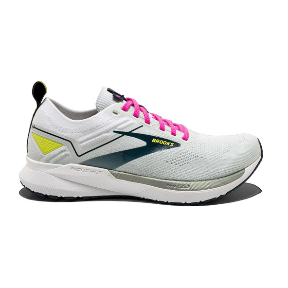 Brooks Ricochet 3 Women's Running Shoe, Ice Flow/Pink