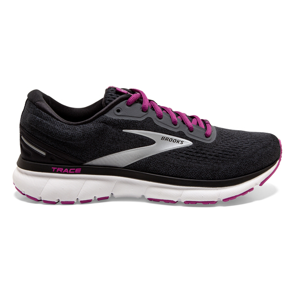 Brook Trace Womens Run Ebony/Black