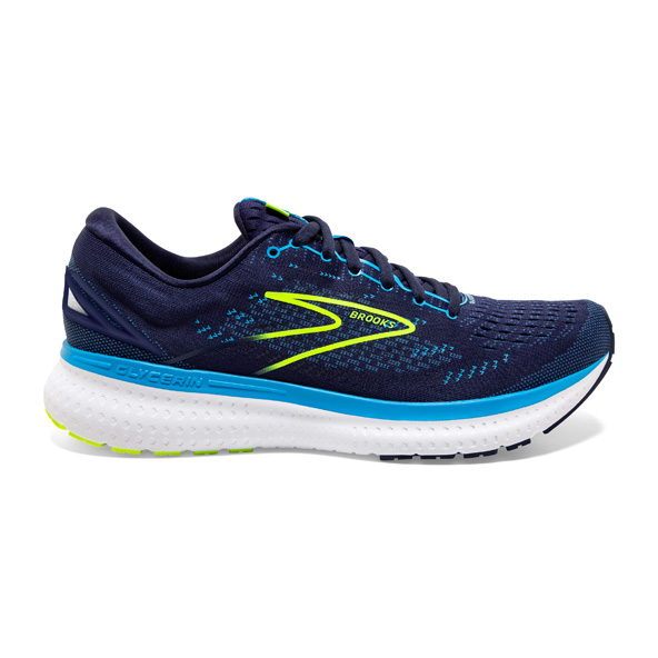 Brooks Glycerin 19 Men's Running Shoe Navy/Lime