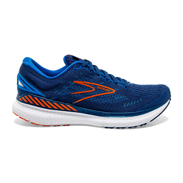 Brooks Glycerin 19 GTS Mens Navy/Orange