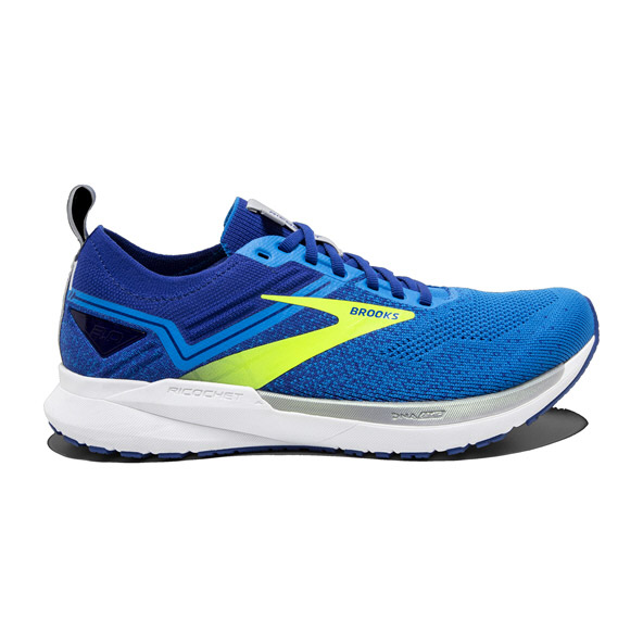 Brooks Ricochet 3 Men's Running Shoe, Blue/Nightlife
