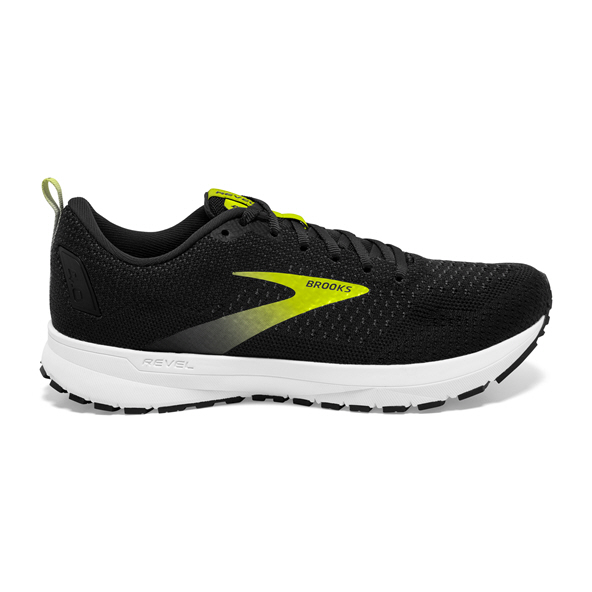 Brooks Revel 4 Men's Running Shoe, Black/Nightlife