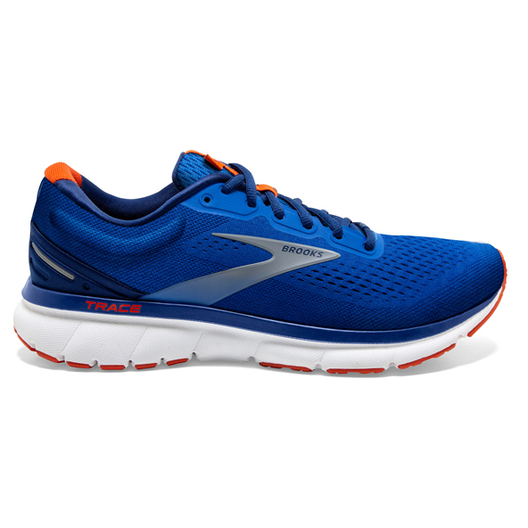 Brook Trace Mens Run Blue/Navy