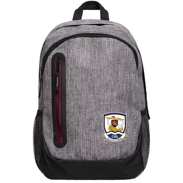 FOCO Galway GAA Backpack Grey / Maroon