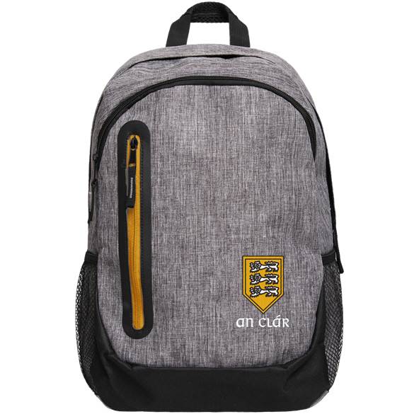 FOCO Clare GAA Backpack Grey Yellow