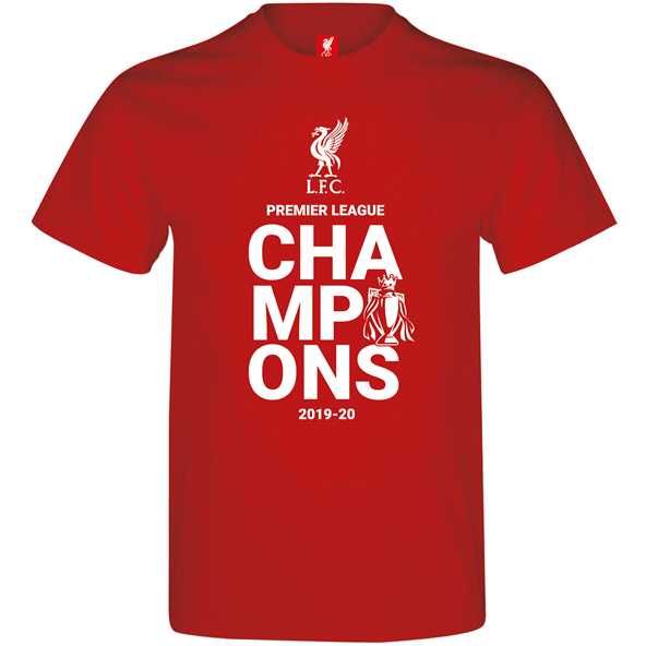 SourceLab LFC Champions 1920 Kid Tee Red