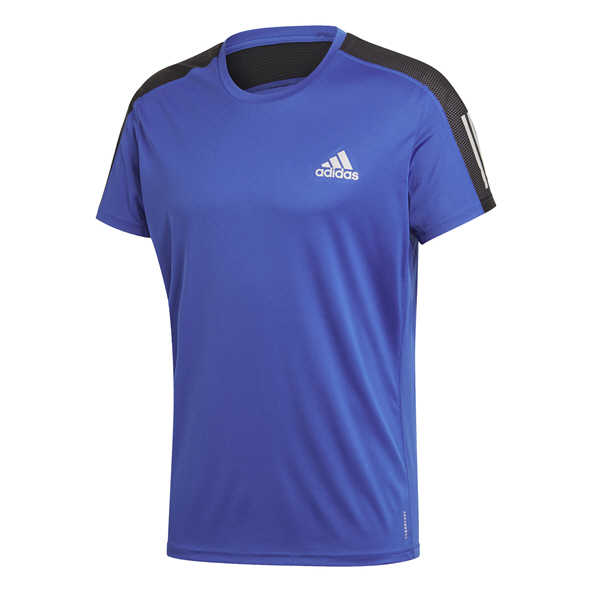 adidas Men's Own The Run T-Shirt Blue