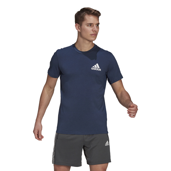 adidas Mens MT Tee Navy