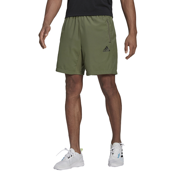 adidas Mens Woven Short Green