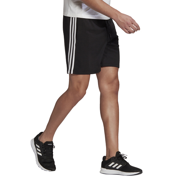 adidas Mens 3S FT Short Black