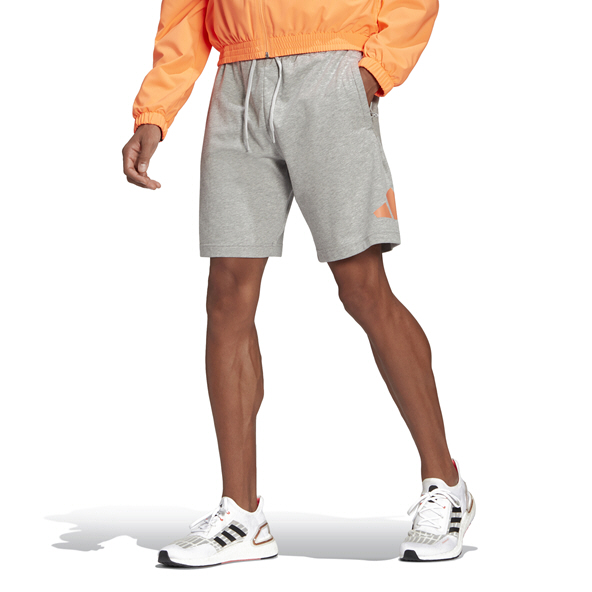 adidas Men's Fleece Short Grey