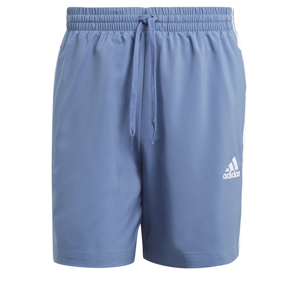 adidas Mens 3S Chelsea Short Blue
