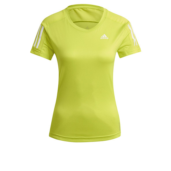 adidas Wmns Own The Run Tee Yellow