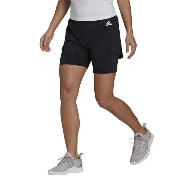 adidas Wmns 2in1 Short Black