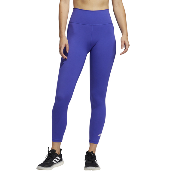 adidas Women's Believe This 2.0 Prime Blue 7/8 Tight Purple