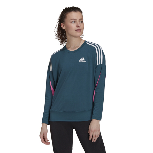 adidas Women's SP Lightweight Crew Blue
