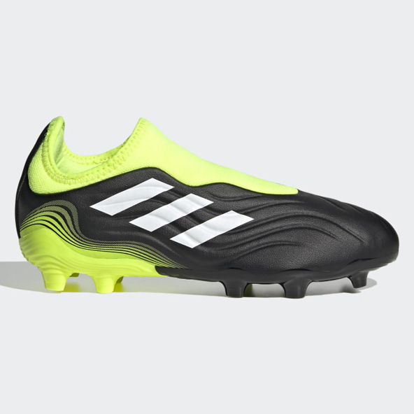 adidas COPA SENSE.3 Laceless FG Junior Football Boots Black