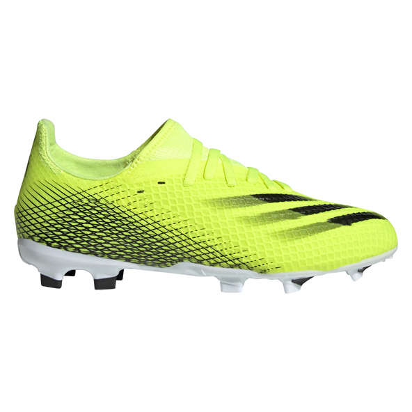 adidas X GHOSTED.3 Firm Ground Junior Football Boots Yellow