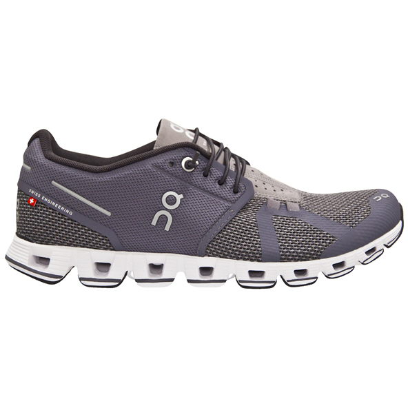 ON Cloud Women's Running Shoe Shark/Pebble