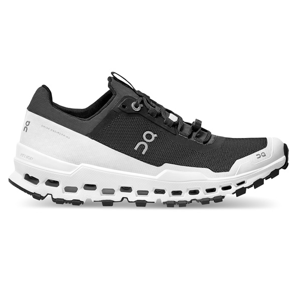 ON Cloudultra Men's Running Shoe, Black/White