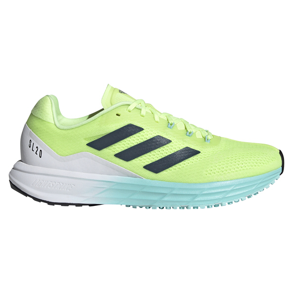 adidas SL20 M Women's Running Shoe, Yellow/Crew Navy