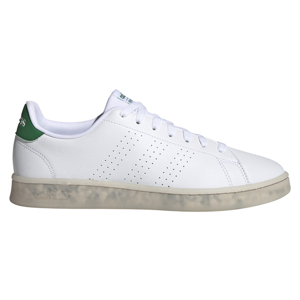 adidas Advantage Eco Men's Shoe, White/Green
