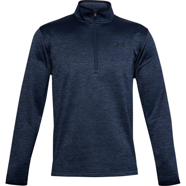 Under Armour Men's Armour Fleece Half Zip Top, Navy