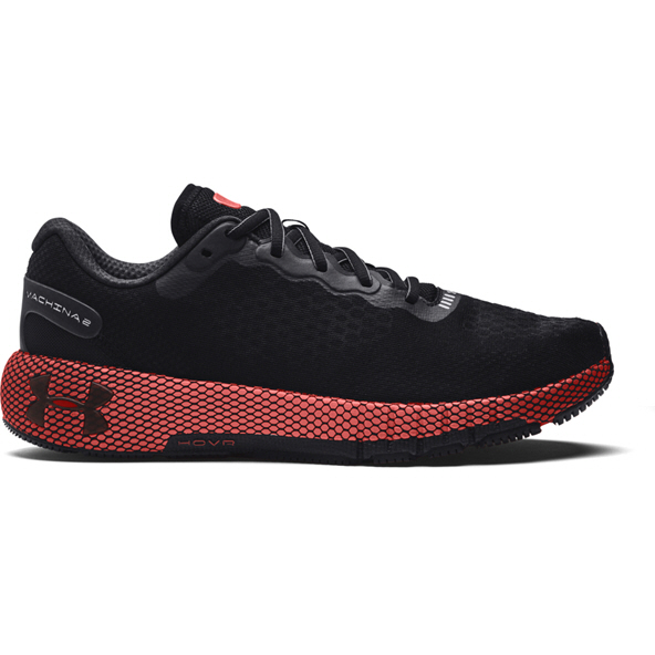 Under Armour Hovr Machina 2 Men's Running Shoe, Black/Red