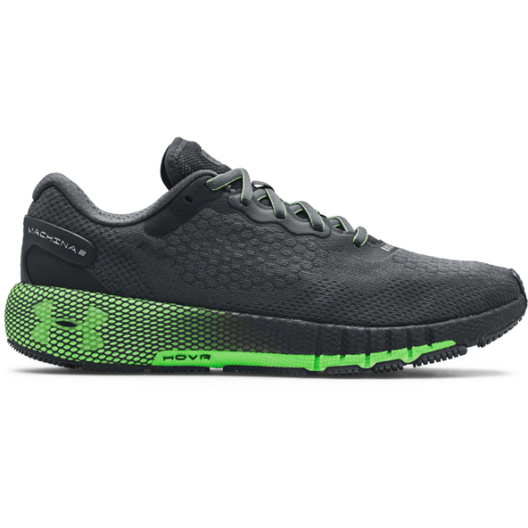 UA Hovr Machina 2 Mens Run Grey/Green