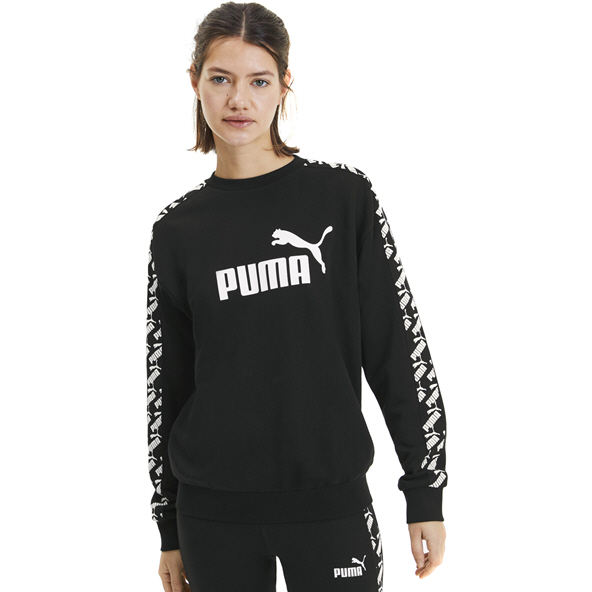Puma Amplified Women's Cropped Crew Black