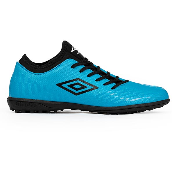 Umbro Raposa SC Kids' Astro Turf Football Boot Blue