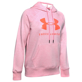 Under Armour® Rival Fleece Women's Hoody Pink