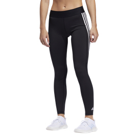 adidas Alphaskin 3-Stripe Women's Tight, Black