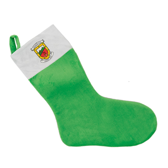 FOCO Mayo Christmas Stocking Green