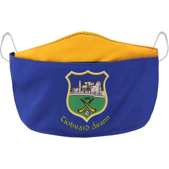 O'Neills Tipperary GAA Adult Face Mask, Blue