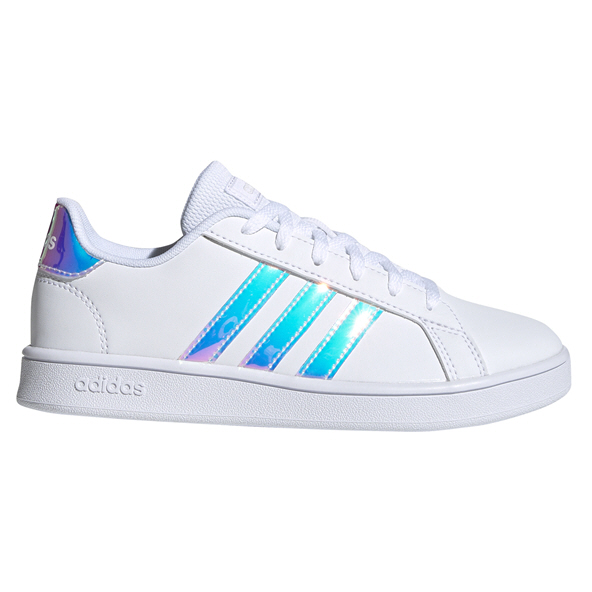 adidas Grand Court Girls' Shoe, White
