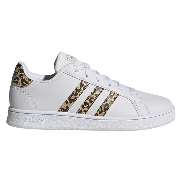 adidas Grand Court Kid Girls Fw White
