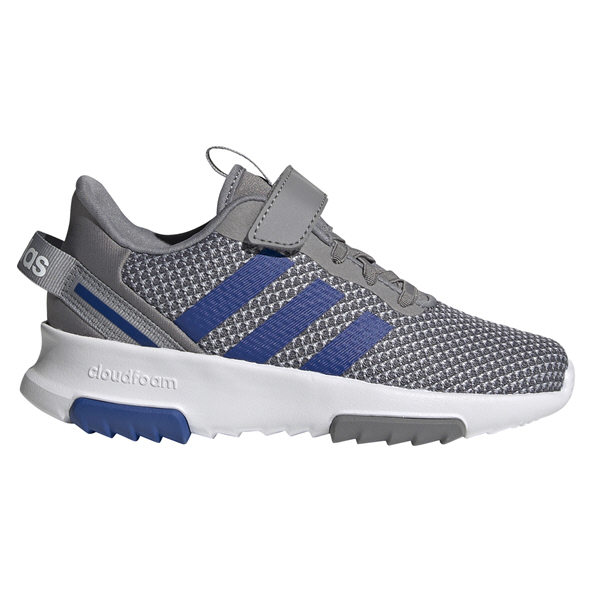 adidas Racer TR 2.0 Junior Boys' Trainer, Grey/Blue