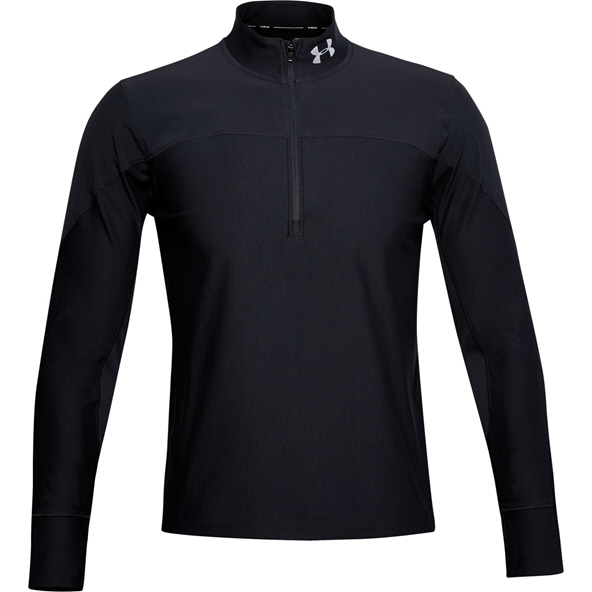 Under Armour Men's Qualifier Half Zip Top  Black
