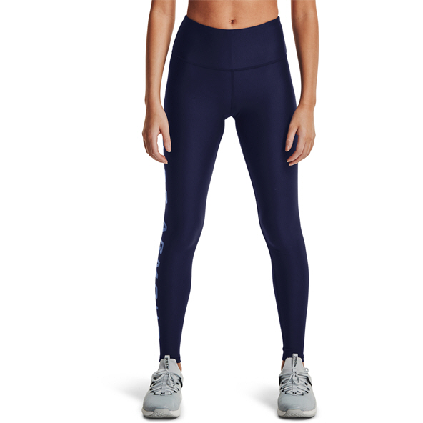 UA Wmns HG Armour Branded Legging Navy