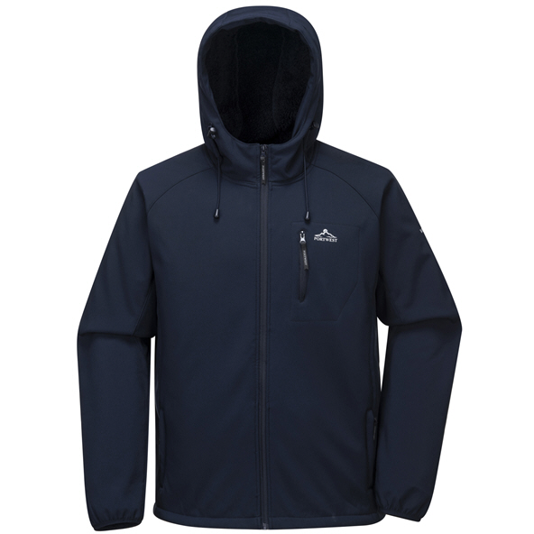 Portwest Mens Fergus Softshell Jkt Navy