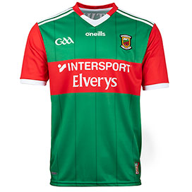 O'Neills Mayo 2021 Home Jersey Green
