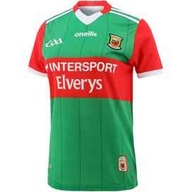 O'Neills Mayo 2021 Home Women's Fit Jersey Green