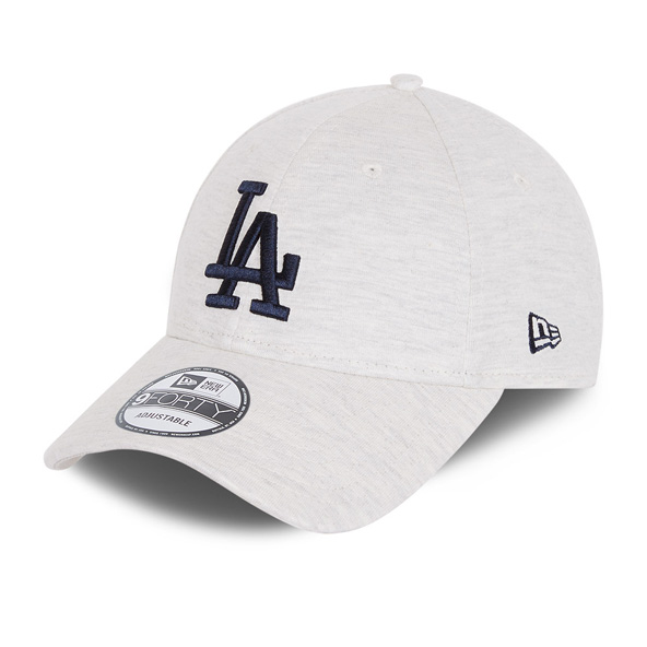 New Era Jersey Essential  LA Dodgers 9Forty Cap, White