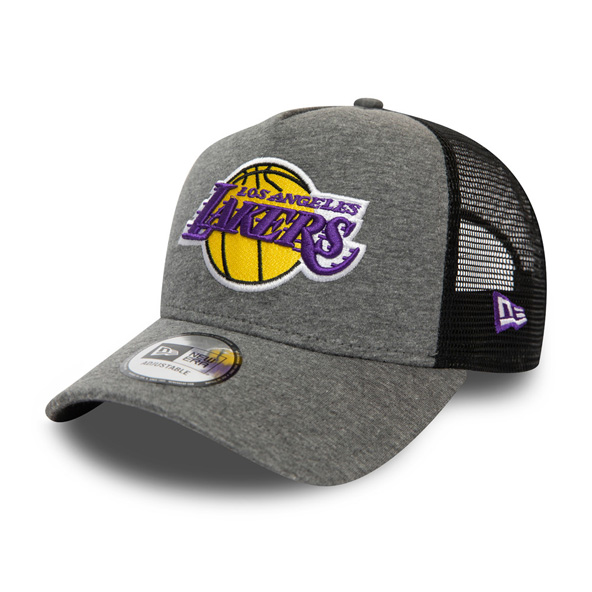 New Era Jersey Essential LA Lakers 9Forty Cap, Grey