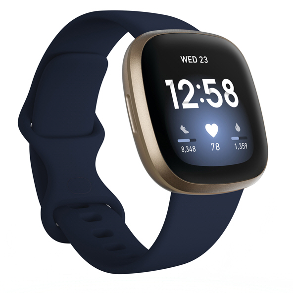 Fitbit Versa™ 3 Smart Watch, Midnight Navy