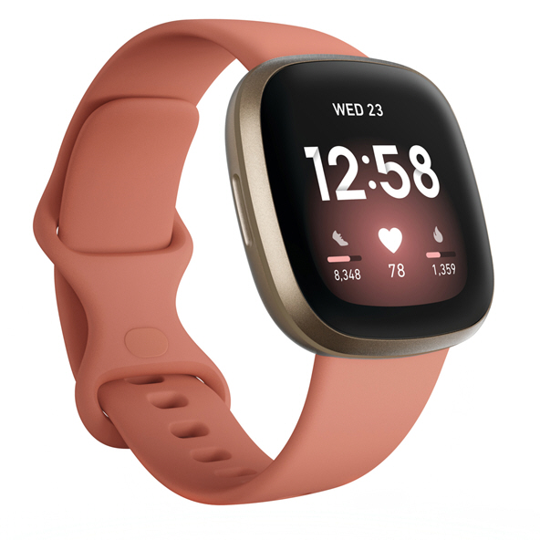 Fitbit Versa™ 3 Smart Watch, Pink Clay