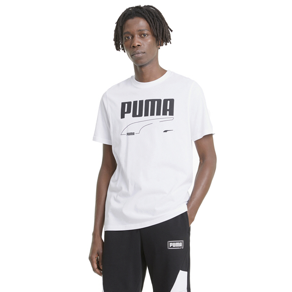 Puma Men's Rebel T-Shirt White