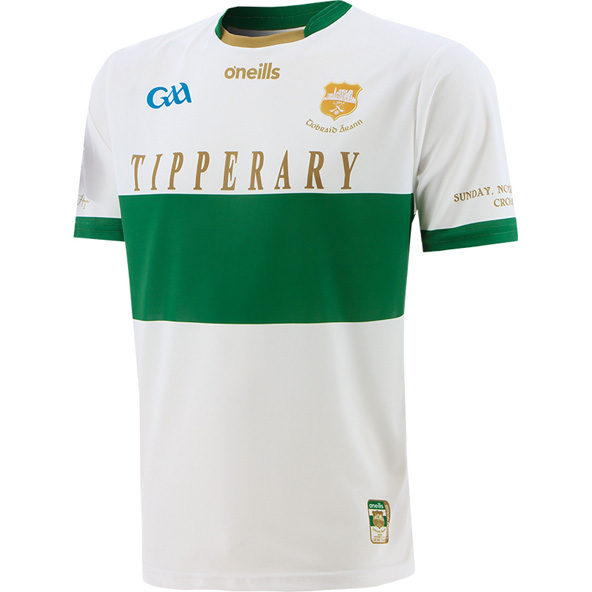 O'Neills Tipperary 1920 Player Fit Jersey White